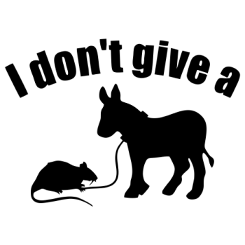I don't Give a  ...