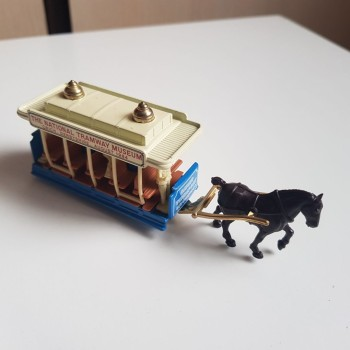 sticker Horse Drawn National Tramway Museum Trolley