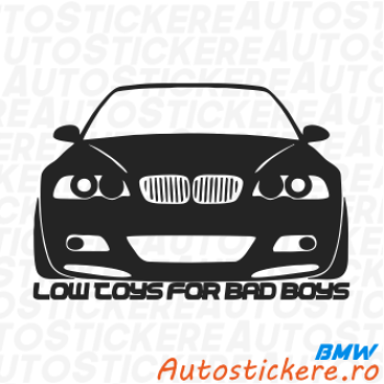 BMW Low Toys For Bad Boys