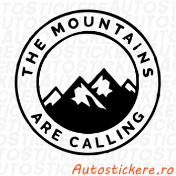 sticker Sticker Mountains are Calling