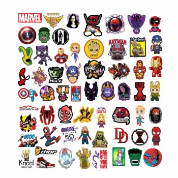 Set 60 Stickere MARVEL