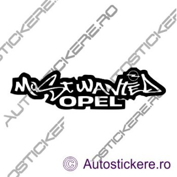 Most Wanted Opel