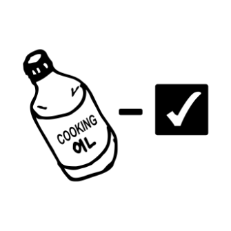 sticker Cooking Oil Works