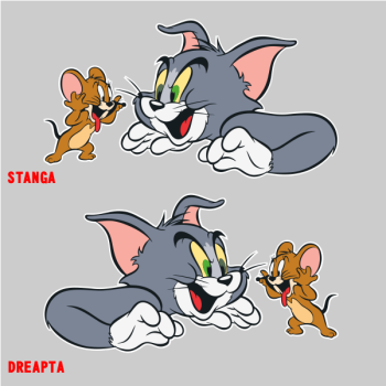 Stickere Tom and Jerry