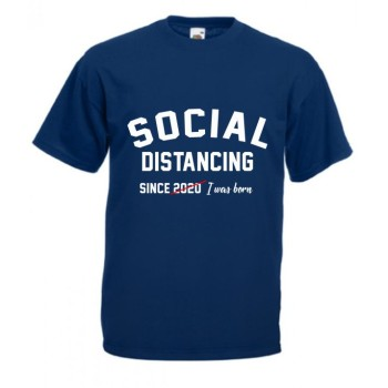 Tricou Social Distancing 2