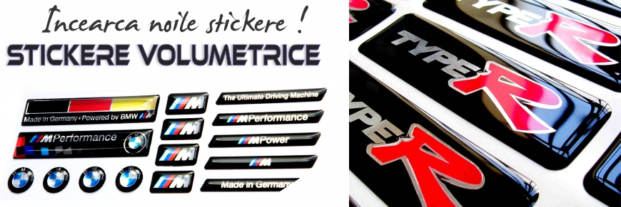 stickere volumetrice