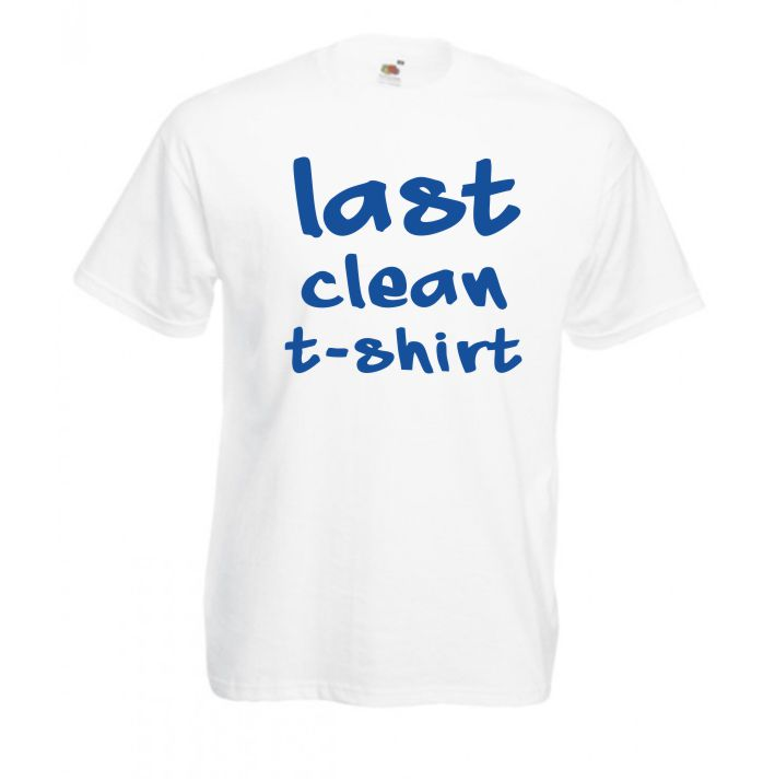 Tricou Last Clean T-Shirt