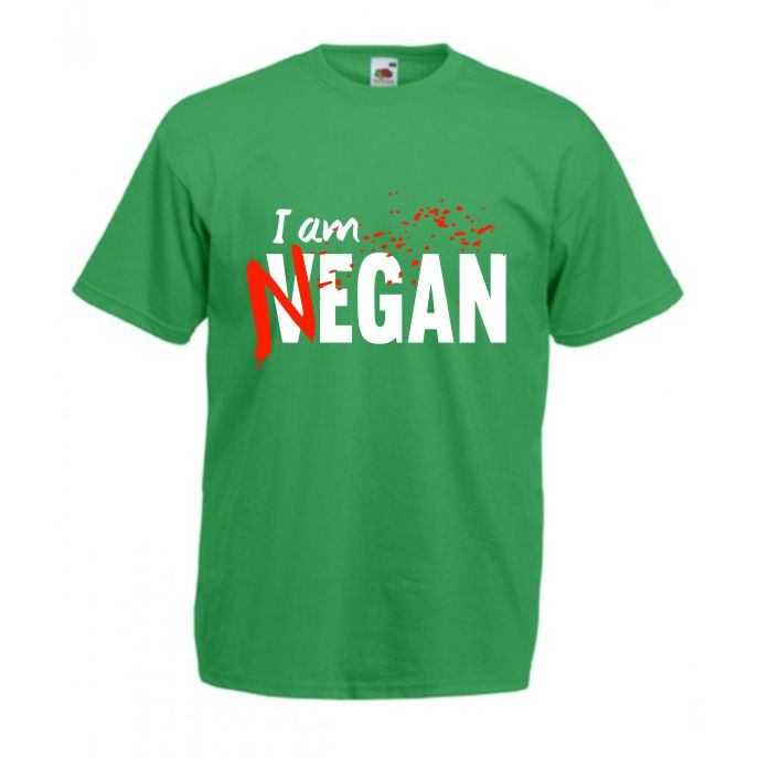 Tricou I Am Vegan