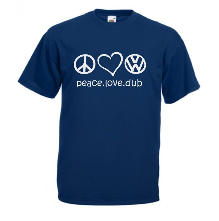Tricou Peace Love Dub